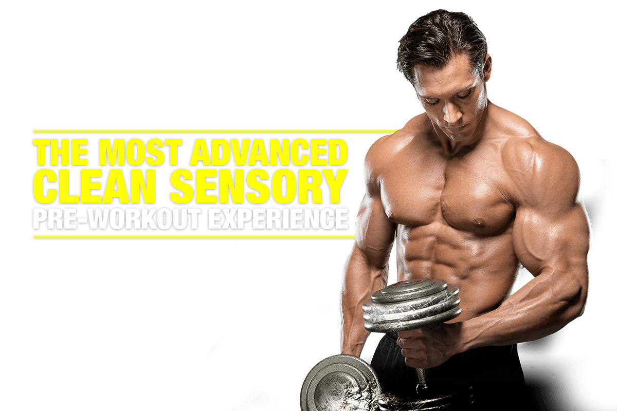 The most advanced clean sensory pre-workout experience