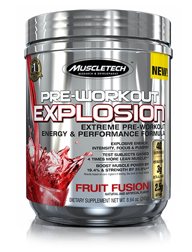 Pre-Workout Explosion